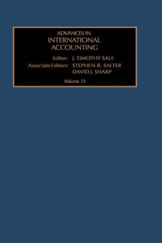 Advances in International Accounting, Volume 13