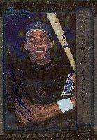 Abraham Nunez Arizona Diamondbacks 1999 Bowman Autographed Hand Signed Trading Card -... by Hall+of+Fame+Memorabilia