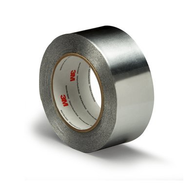 (3M 425) (3M Id Number 70006385333) 3M(Tm) Aluminum Foil Tape 425 Silver, 4 In X 60 Yd 4.6 Mil, 2 Rolls Per Case Bulk [You Are Purchasing The Min Order Quantity Which Is 2 Rolls]