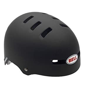 Bell Faction Bike Helmet (Matte Black, Large)