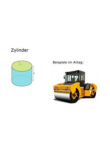 Mathematik: Einführung Zylinder - Gerader Kreiszylinder