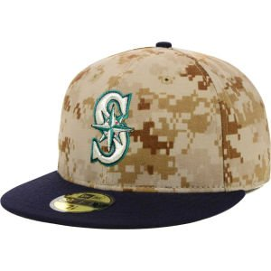 MLB Seattle Mariners 2014 Memorial Day 59Fifty Cap by New Era