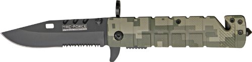 Tac Force TF-636DC Folding Knife 4.5-Inch Closed