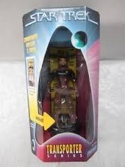 "4.5"" Commander William T. Riker Action Figure - Star Trek Transporter Series"
