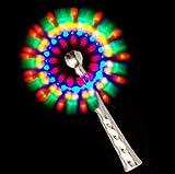 Glowing/Flashing Rainbow Windmill With 3 x AAA batries inside