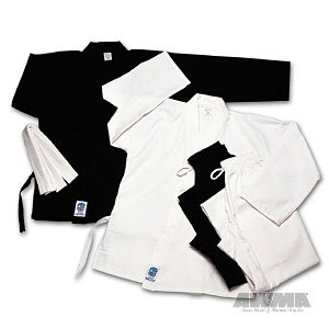 ProForce 5oz Ultra Light Weight Karate Gi / Uniform - Black - Size 00 (Kids Karate Uniform compare prices)