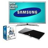 """Samsung UN60D8000 60"""" Class 3D LED HDTV Bundle"""
