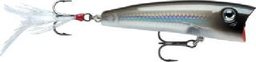 Save Price Rapala X-Rap Pop 07 Fishing lure, 2.75-Inch, Pearl Grey Shiner  Review