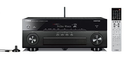 Yamaha RX-A850 7.2-Channel Network AV Receiver with Built-In Wi-Fi and Bluetooth (Black)