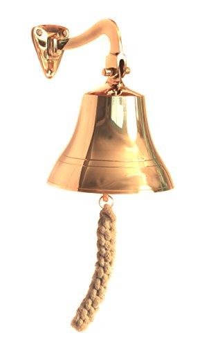 WinnerBrown Nautical Maritime Brass Ship Bell ,6 inch
