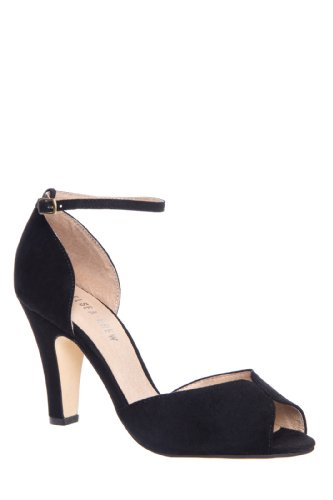 Lola High Heel Open Toe D'Orsay Pump