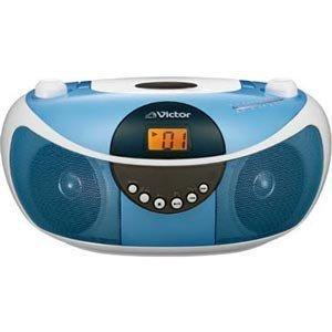 Victor CDポータブルシステム(ブルー) RD-EZ11-A
