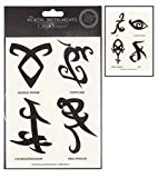 City of Bones 8 Transfer Tattoos - The Mortal Instruments