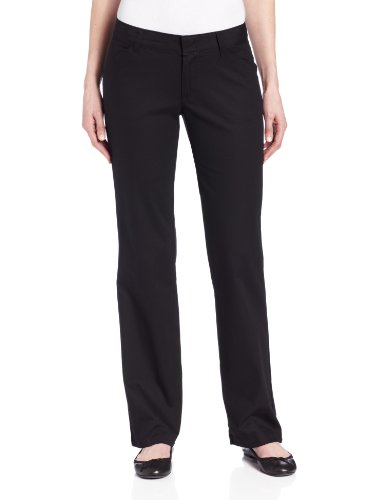 Dickies FP321BK 12 RG Womens Relaxed Straight Stretch Twill