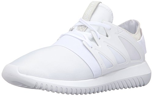 Adidas Originals Women's Tubular Viral W Fashion Sneaker, White/White/White, 8 M US