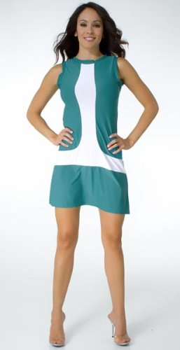 Casual Short Mod Sleeveless Mini Dress from Hot Fash Dresses