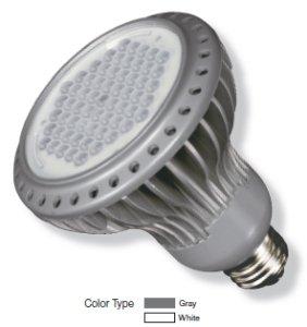 Kolourone Led Par30 Lamp In White Beam Angle: 40°, Color Temperature: 2700K, Wattage: 7 Watt