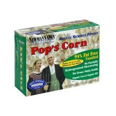 Newman'S Own Organics Microwave No Butter, No Salt Pop'S Corn (12X3X2.8 Oz)