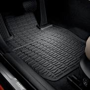 Bmw Oem X1 All-weather Rubber Floor Mats Front Set- Black Xdrive Models Only from BMW