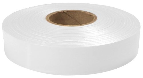 Empire Level 77-066 Flagging Tape, White, 600-Feet by 1-Inch
