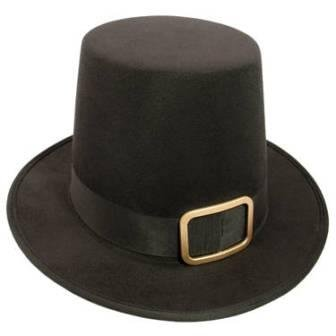 Deluxe Pilgrim Hat with Buckle - Great for Thanksgiving Plays!