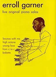 Erroll Garner - Five Original Piano Solos Softcover (Erroll Garner Sheet Music compare prices)