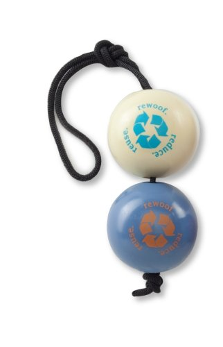Planet Dog 2-1/2-Inch Recycle Ball 3-toys-in-1 Value Pack