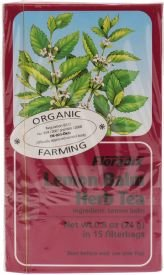 Lemon Balm Organic Herbal Tea
