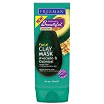 Facial Clay Avocado and Oatmeal Purifying  Mask 6 fl oz