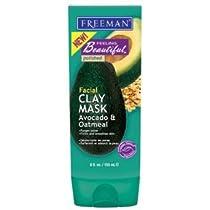 Facial Clay Avocado and Oatmeal Purifying  Mask 6 fl oz