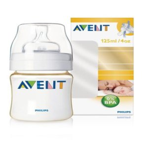 AVENT Natural feeding bottle 4oz Newborn Flow - SCF66010