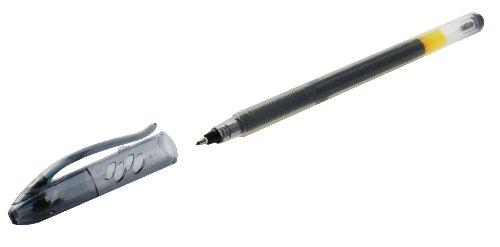 Pilot Begreen - Juego de bolígrafos roller de punta fina (10 unidades, tinta de gel negra)