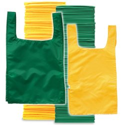 Adult Pinnies 72 Pack Green Yellow (PAC) by SSG