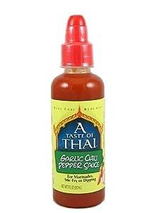 A Taste Of Thai Garlic Hot Sauce 7oz