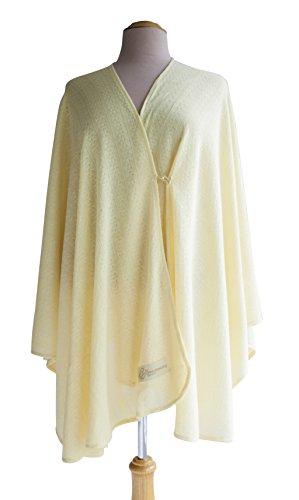 Primo Bebitza Textured Knit Nursing Cover, Yellow