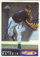 Miguel Batista Arizona Diamondbacks 2002 Topps Total Autographed Hand Signed Trading... by Hall+of+Fame+Memorabilia