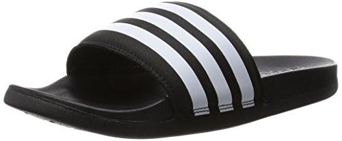 adidas Adilette Supercloud Plus, Scarpe da Spiaggia e Piscina Uomo, Nero (Core Black/Ftwr White/Core Black), 43 EU