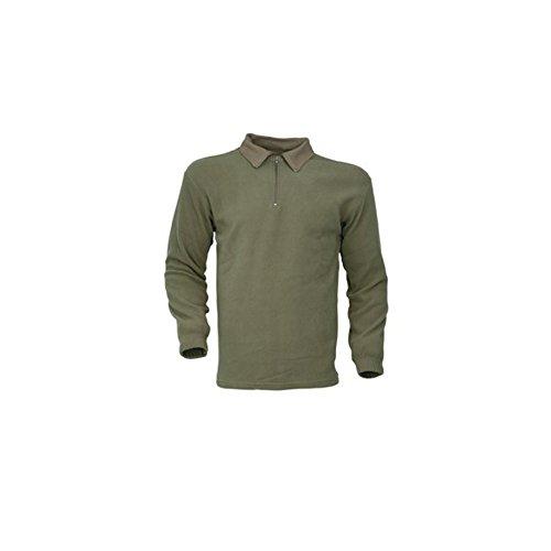 chemise-militaire-f1-polaire-kaki-m