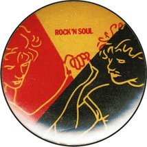 Hall And Oates - Rock 'N' Soul - Button / Pin