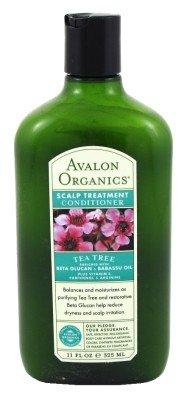 Avalon Organics Tea Tree 11 oz. Shampoo + 11 oz. Conditioner (Scalp Treat) (Combo Deal)