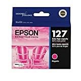 Epson DURABrite Ultra 127 Extra High-capacity Inkjet Cartridge-Magenta T127320
