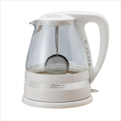 Aroma AWK-161 Clar-i-Tea 1.7-Liter Electric Water Kettle and Tea Brewer
