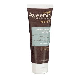 Amazon.com : Aveeno Men's Fragrance Free After Shave Lotion, 3.4 Ounce