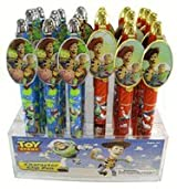 School Supplies - Toy Story Oval Clip Pen (2 pcs set) - Woody Buzz Pen Set