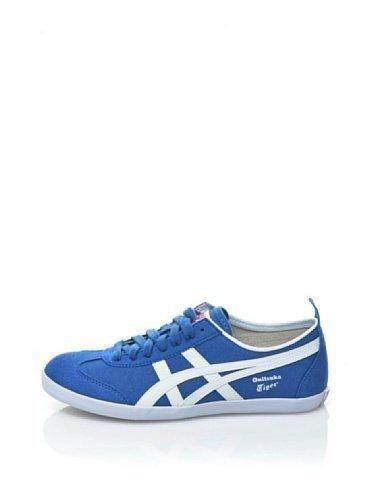 Onitsuka Tiger Mexico 66 Sneaker stone wash VULC CV, Blu (blu), 39 EU