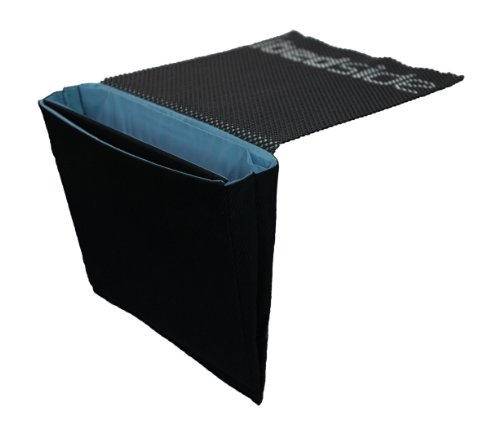 Sale!! iBedside: Tidy Bedside Caddy charge and store gadgets while you rest (Black & Blue)