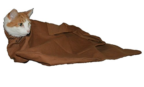 Cat-in-the-bag Cozy Comfort Carrier (Caramel, Small – up to 10 lbs.)