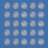 25 Machine à Coudre en Plastique Bobines, S'adapte Janome, Brother, Singer, Toyota, etc. + PACKET GRATUITE DE SERINGUES ALLEMAND - Livraison Gratuite!