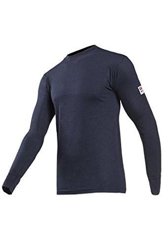 sioen-2690-a2mpbb90-m-teramo-ignifuge-t-shirt-a-manches-longues-taille-m-bleu-marine-lot-de-10