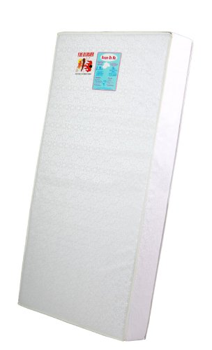 "Buy Dream On Me 6"" Full Size Firm Foam Crib and Toddler Bed Mattress, White"